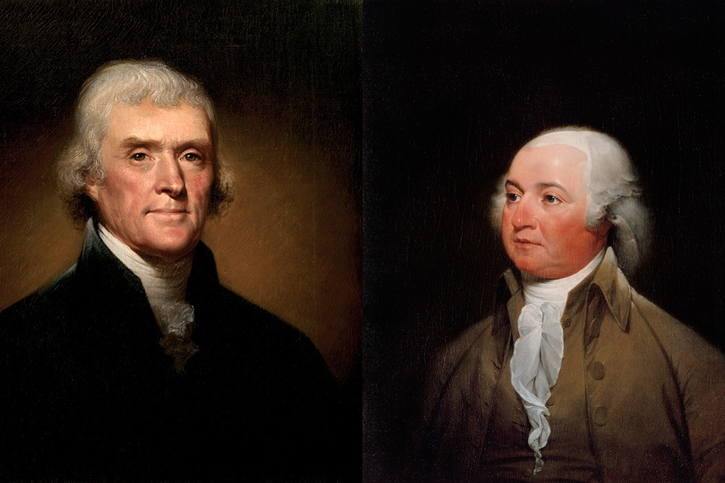 Jefferson and Adams