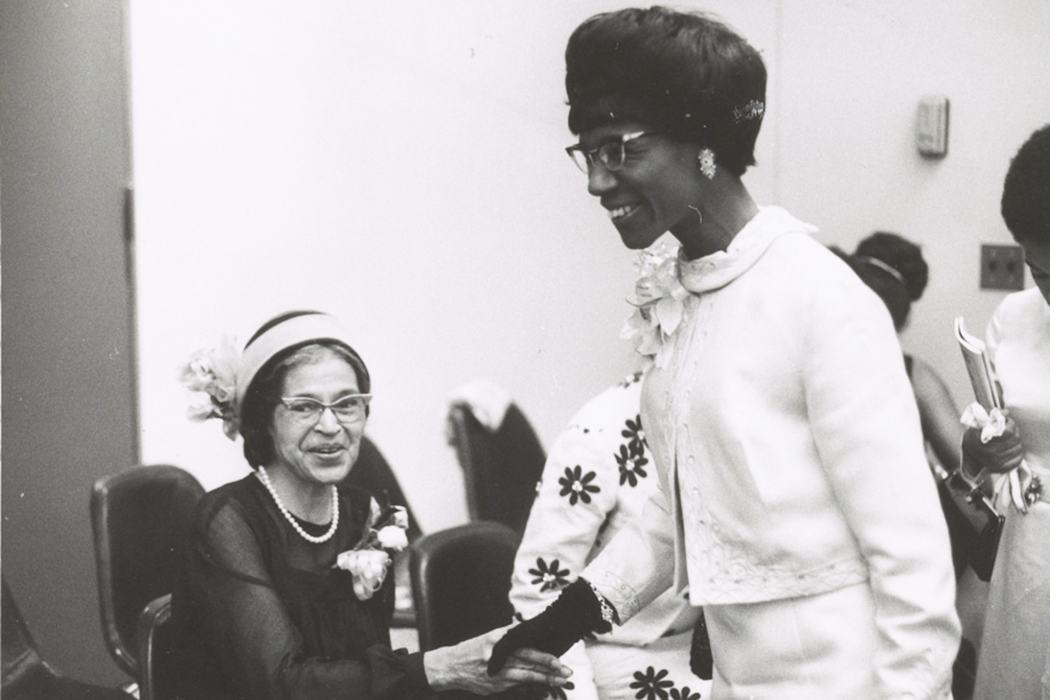 "shirley chisholm paper Essay two: the life of shirley chisholm ""shirley anita st hill chisholm was born in brooklyn, new york, in november 1924, in the impoverished b."
