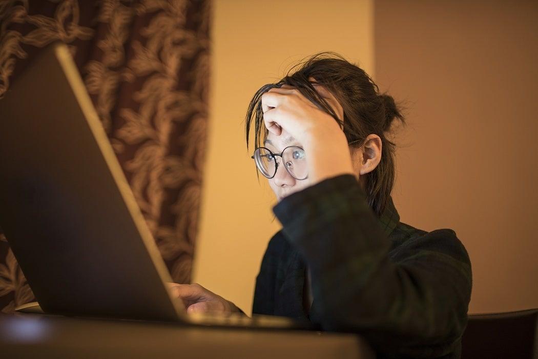 online stress