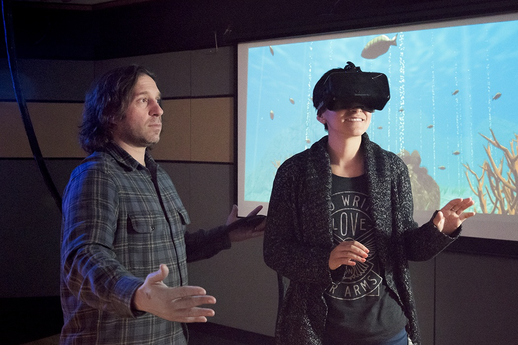 Stanford VR coral world