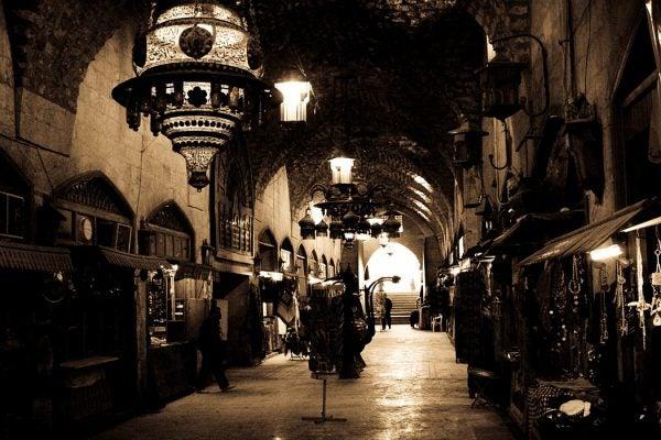Aleppo marketplace