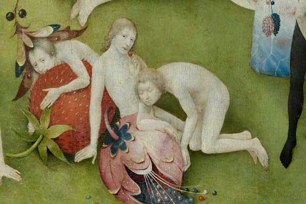 "Bosch Strawberry, from ""Garden of Earthly Delights"""