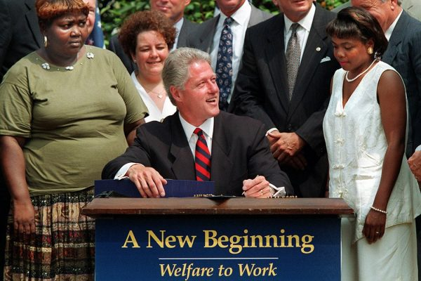 Clinton welfare reform