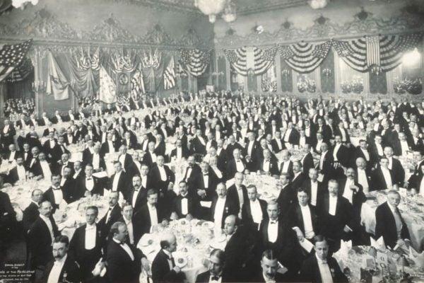 Delmonico's dinner, 1906