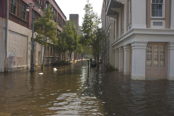 Katrina flooded New Orleans