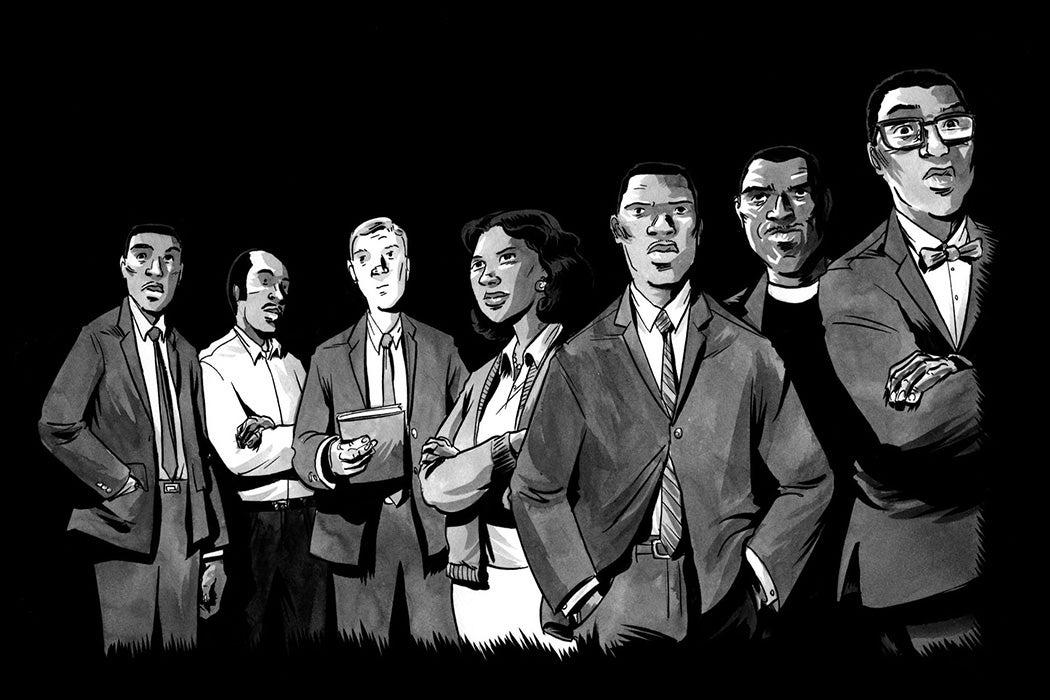 """March,"" John Lewis' Civil Rights Comic Book"
