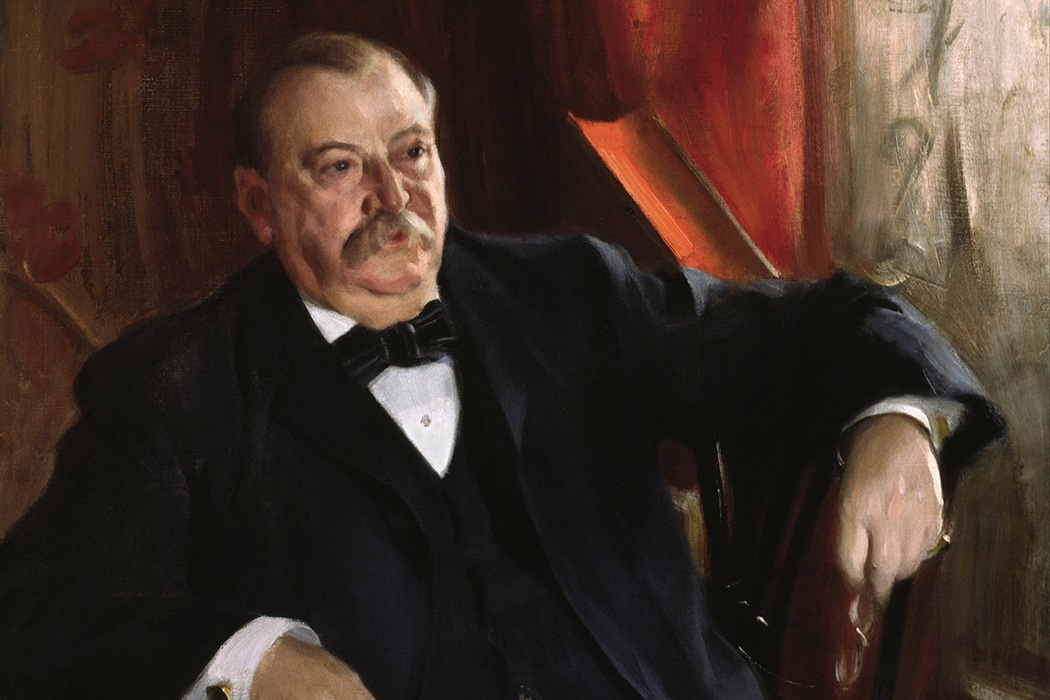 Anders Leonard Zor, portrait of Grover Cleveland