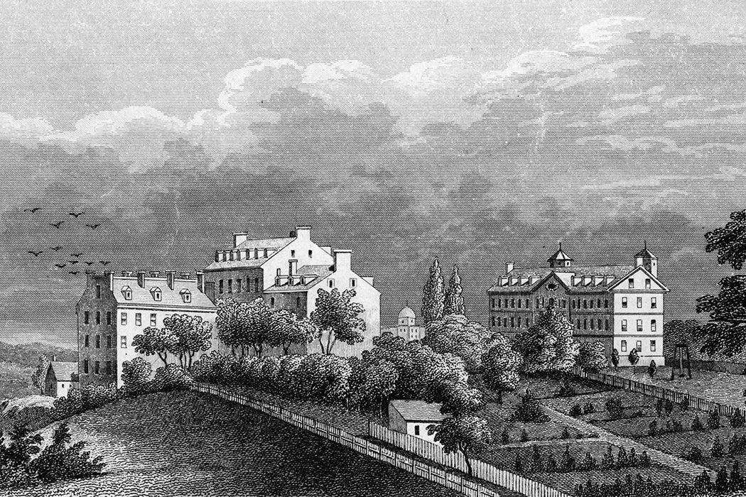 Georgetown University in 1850