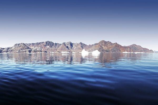 Coast in Greenland