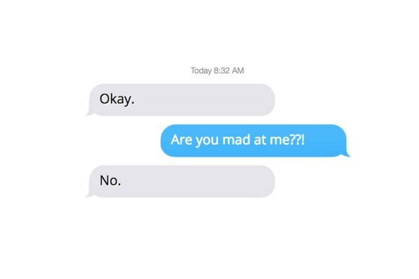 imessage punctuation