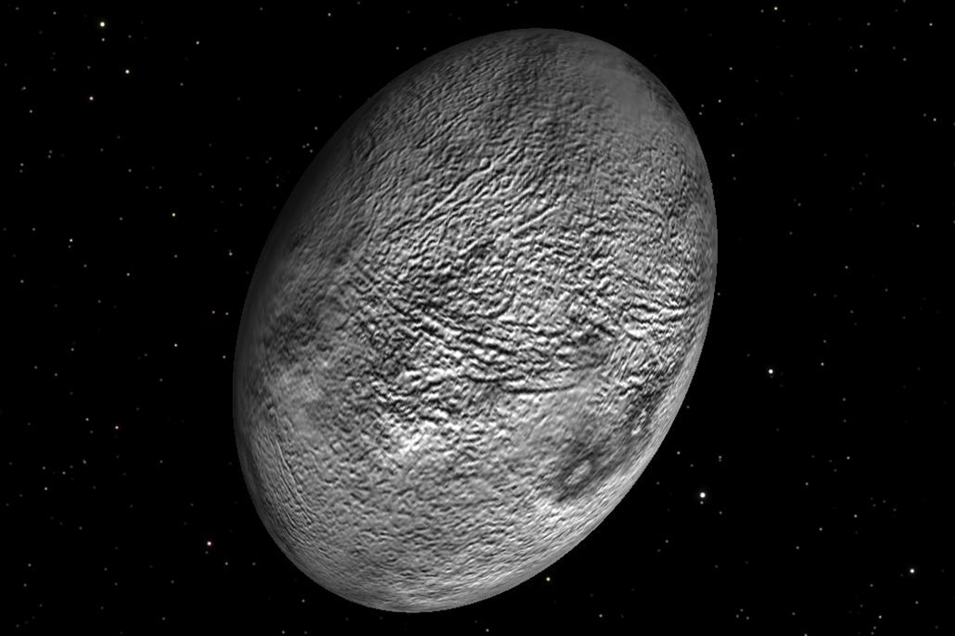 haumea with other planets - photo #2