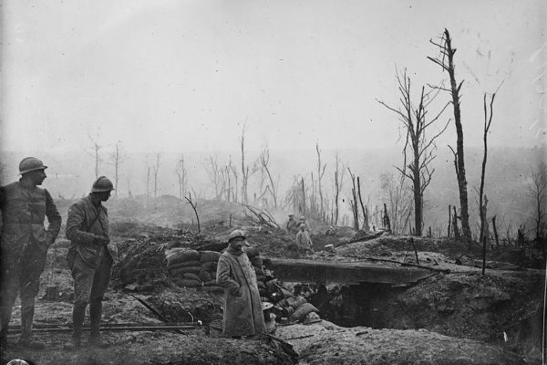 French trench in WWI