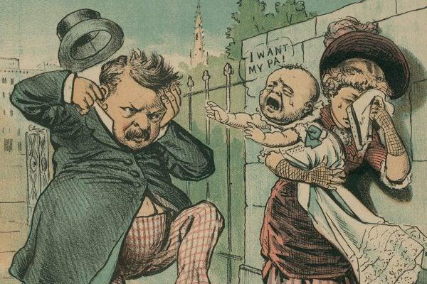 Grover Cleveland cartoon