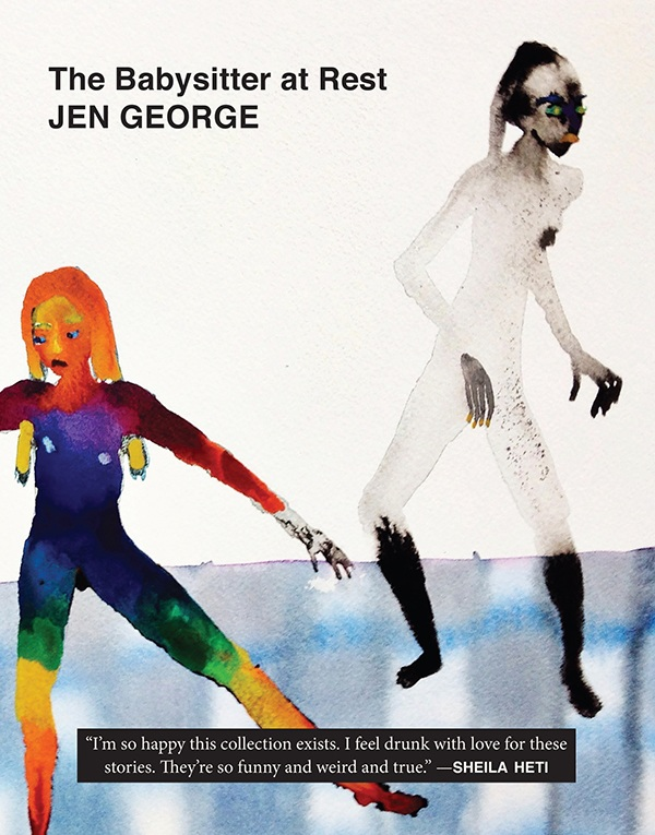 Jen George's The Babysitter at Rest, published by Dorothy