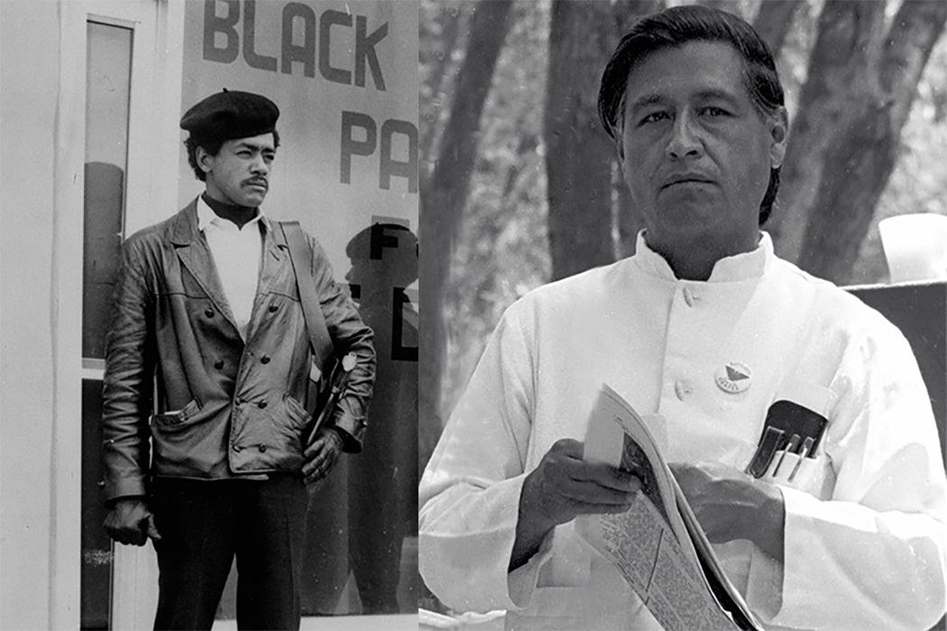 Bobby Seale and Cesar Chavez