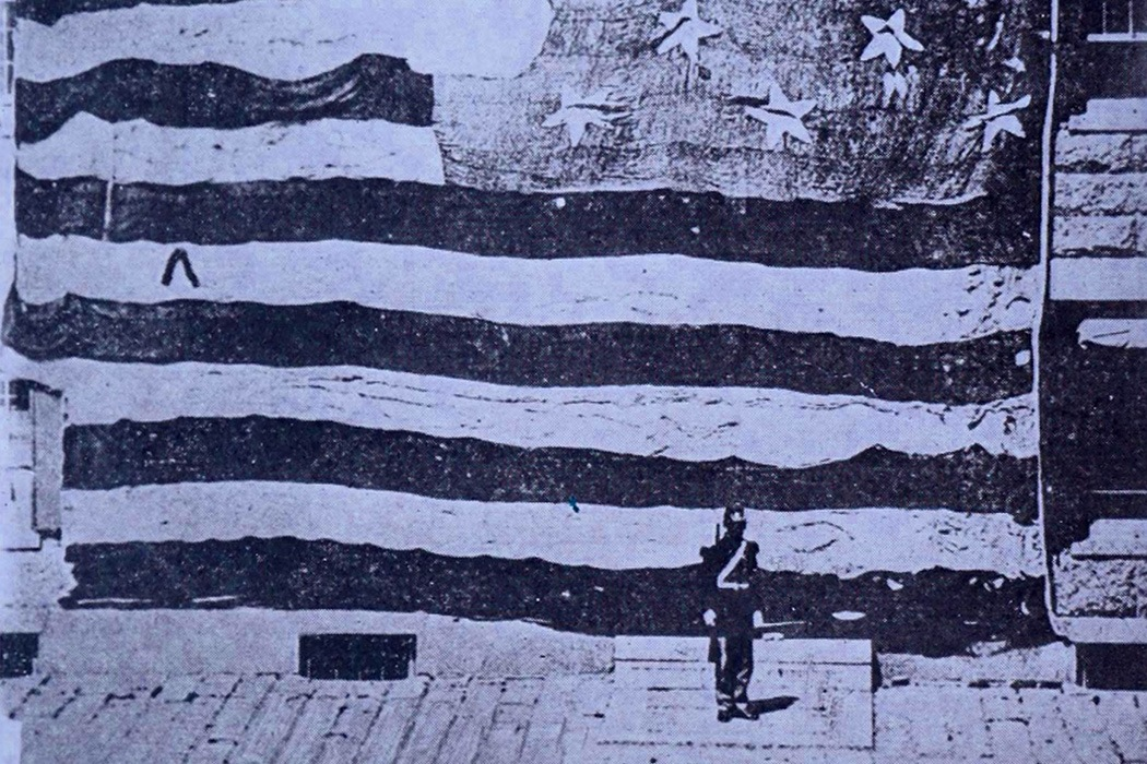 Fort McHenry Flag, 1873