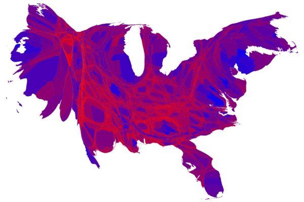 2012 Cartogram