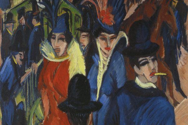 Kirchner, Berlin Street Scene