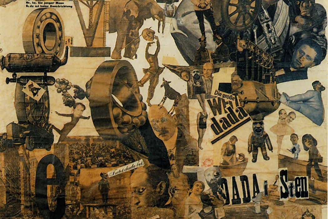 Hannah Höch. German, 1889-1978 Cut with the Kitchen Knife through the Last Weimar Beer-Belly Cultural Epoch in Germany
