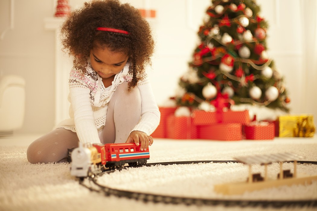 Toys At Christmas : Why we give children toys for christmas