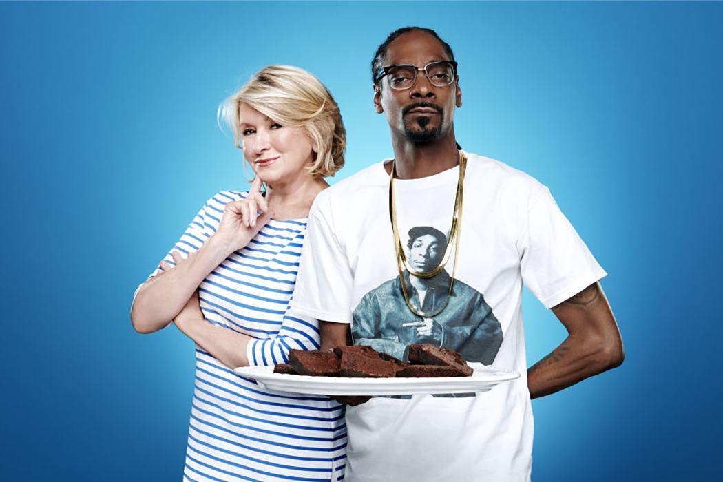 Martha Stewart and Snoop Dog