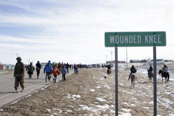 Wounded Knee march