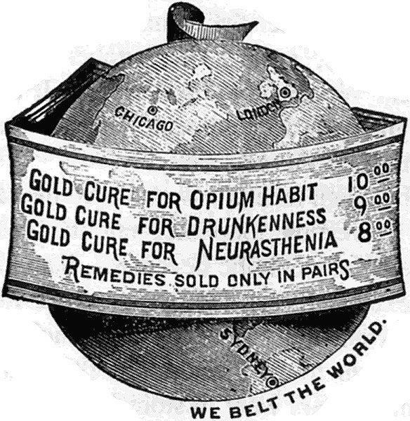 Gold Cure globe