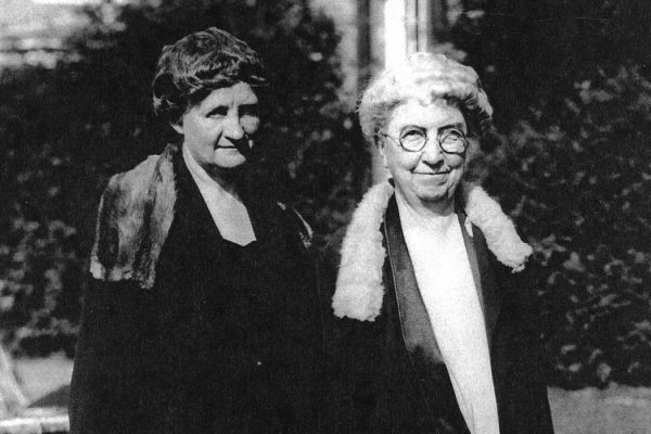 Martha Van Rensselaer and Flora Rose
