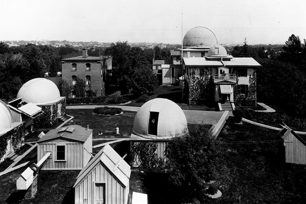 Harvard Observatory, 1899