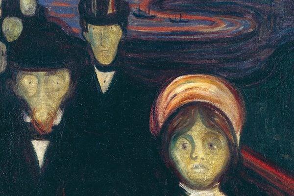 "Edvard Munch's ""Anxiety"""