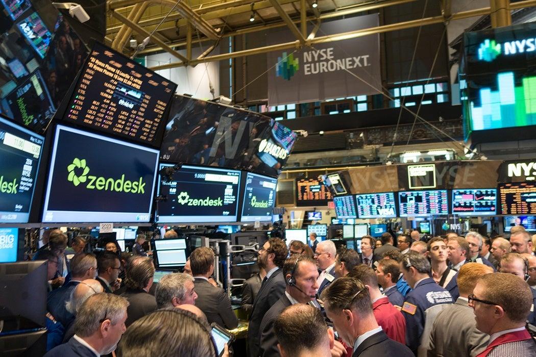 NYSE floor traders