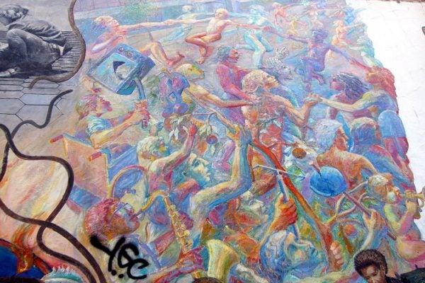 Berkeley mural
