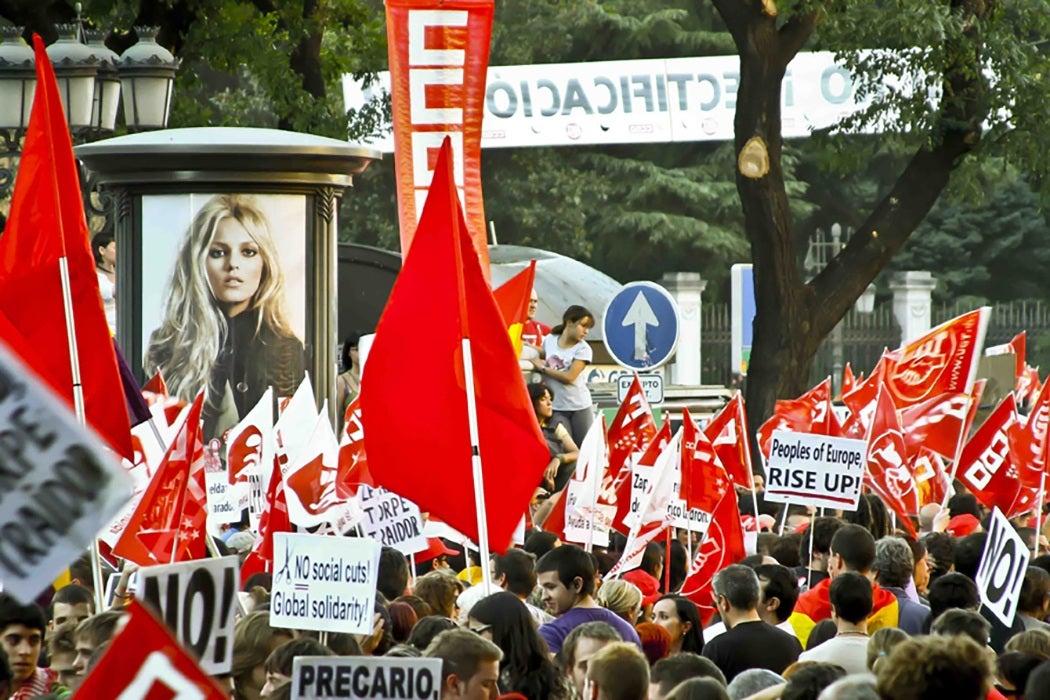 General strike, Spain