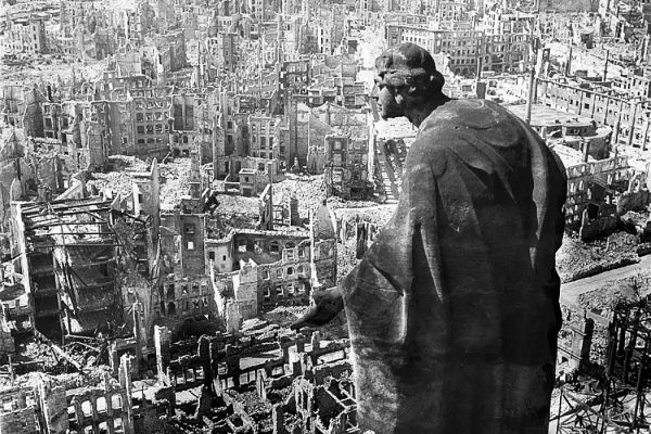 Dresden Germany after firebombing