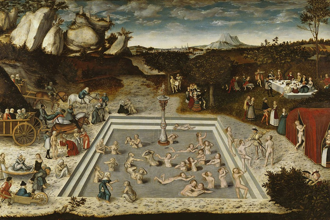 The Fountain of Youth by Lucas Cranach the Elder