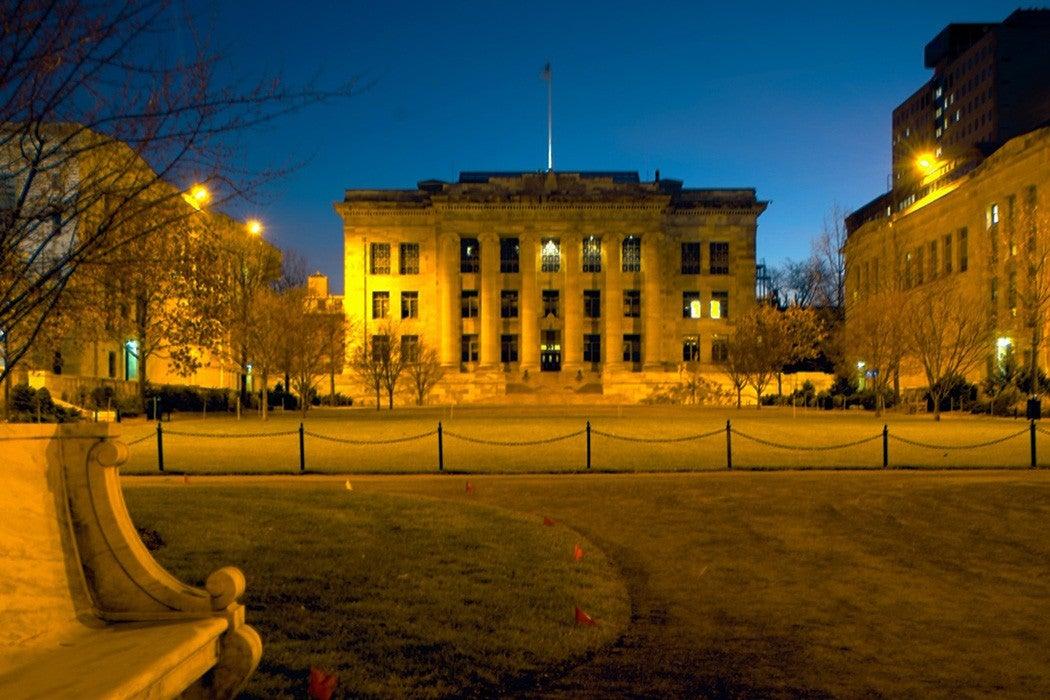 Harvard quad