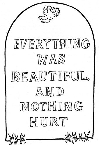 "An illustration from Kurt Vonnegut's ""Slaughterhouse-Five"""