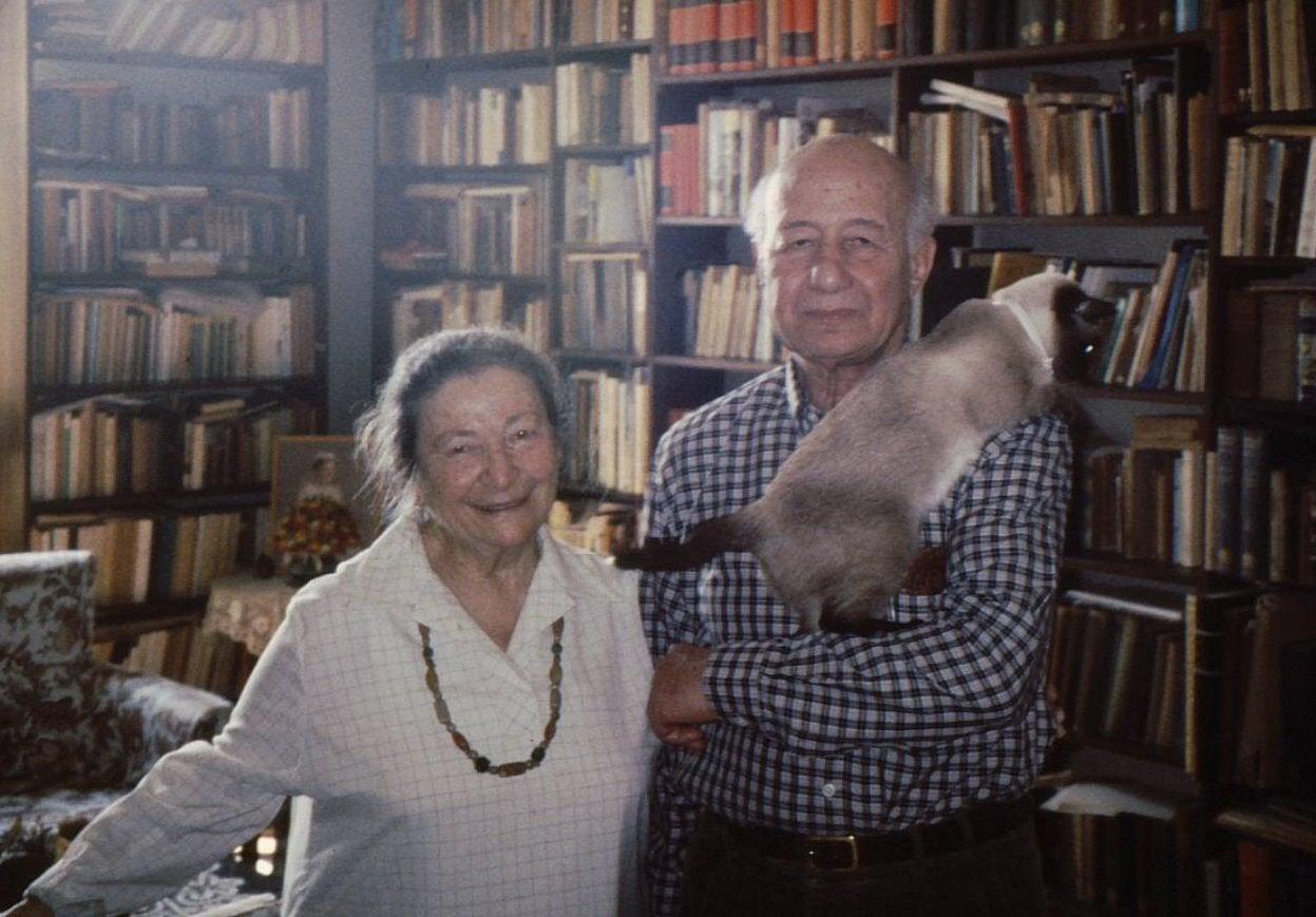 Mustafa el-Abbadi and Azza Kararah