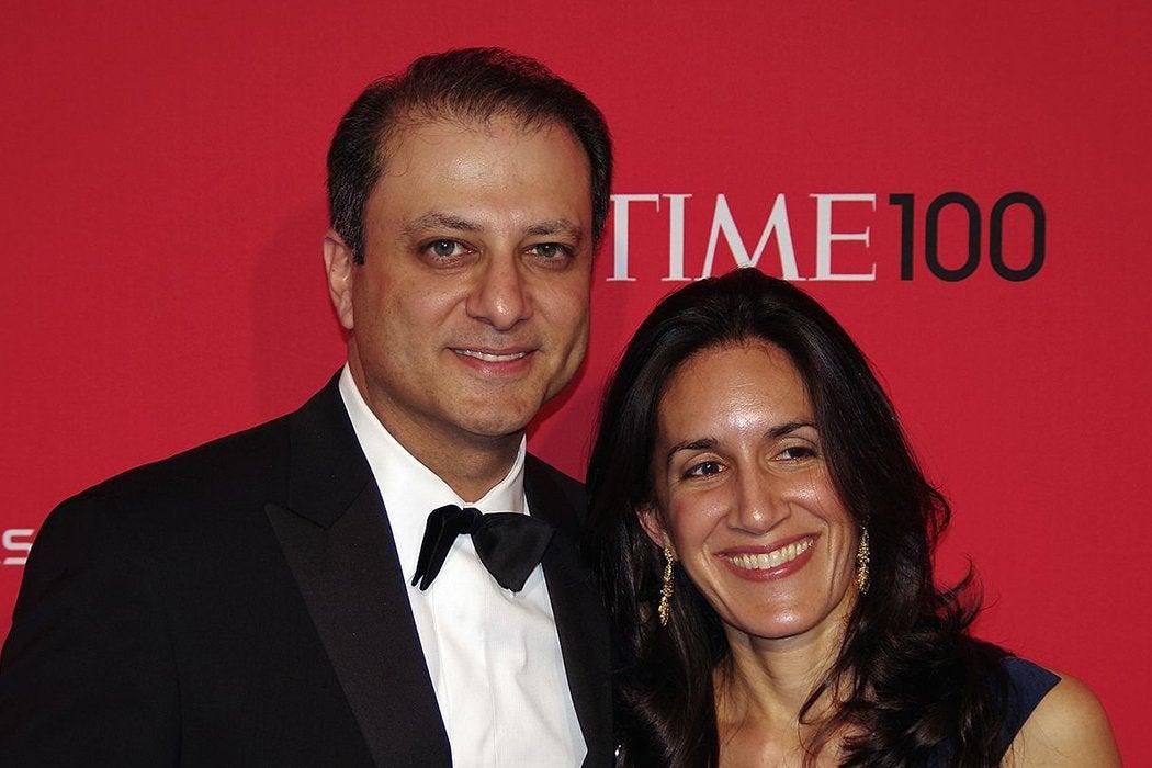 Preet and Dalya Bharara