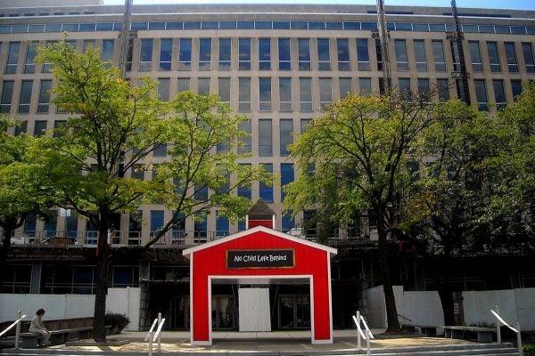 Department of Education headquarters, 2008