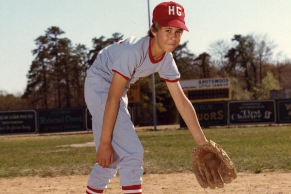 70s Little League Player