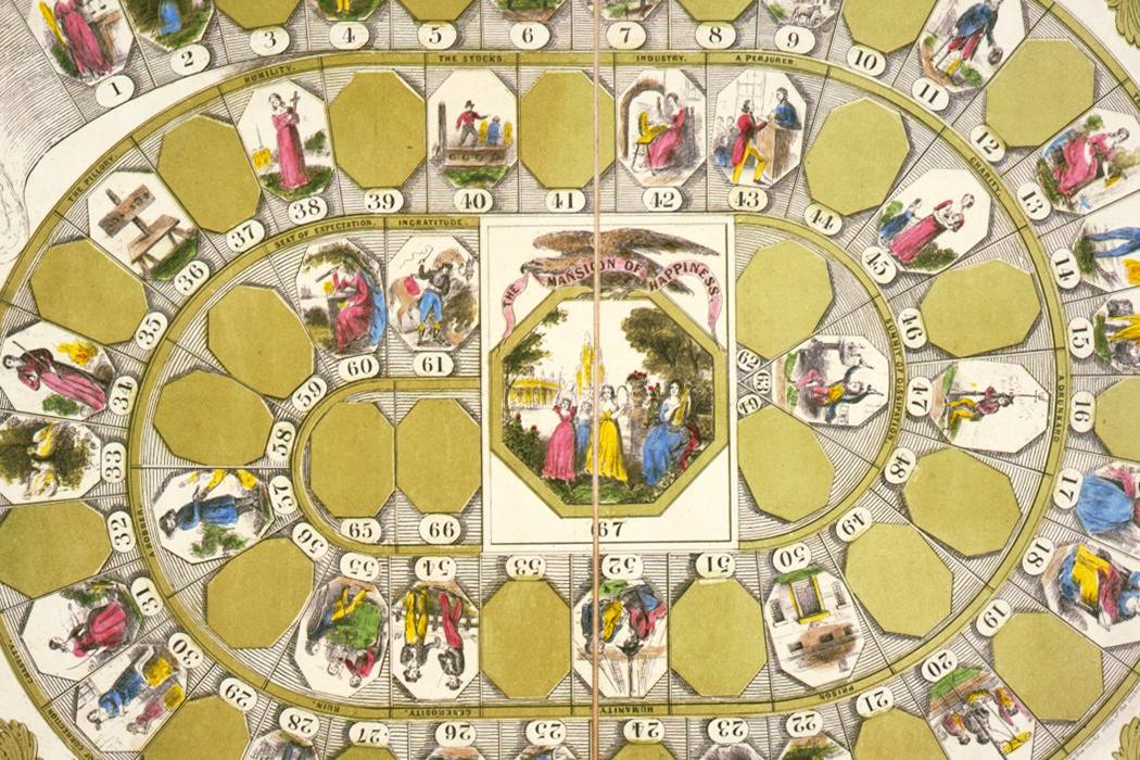 Mansion of Happiness board game