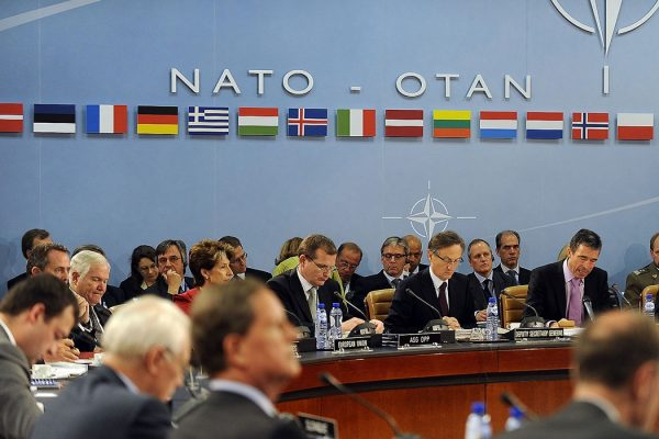 NATO headquarters meeting