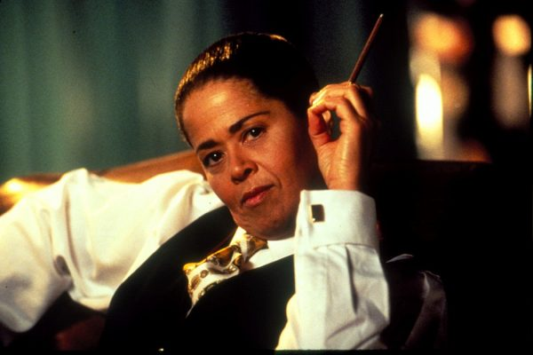 "Anna Deavere Smith as Cornel West in ""Twilight: Los Angeles."""