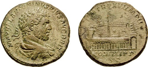 Roman coin Caracalla