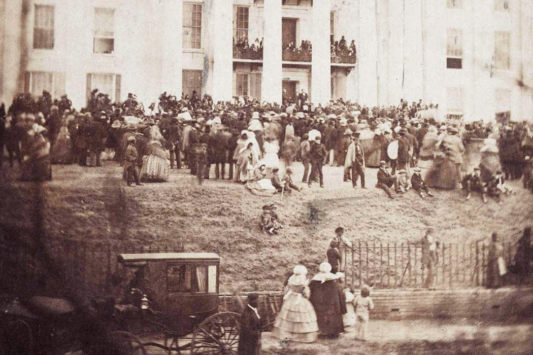 jefferson davis inauguration