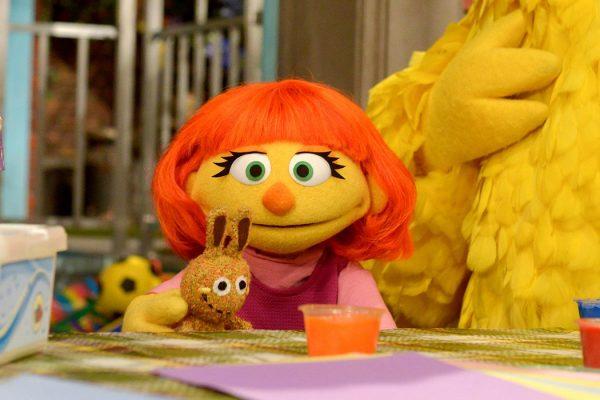 Julia, Sesame Street
