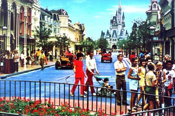 Main Street U.S.A. at Disneyworld