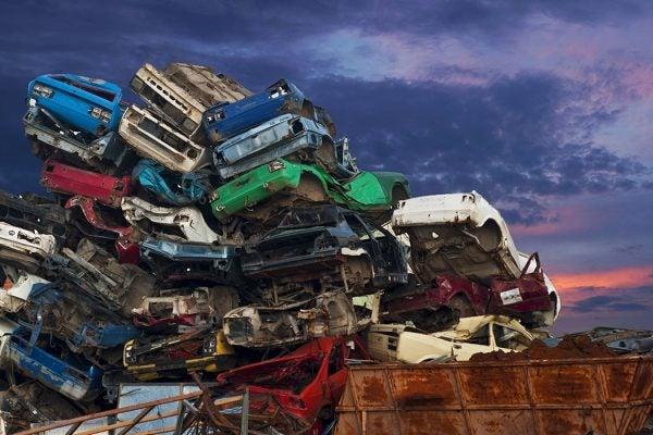 Car junkyard