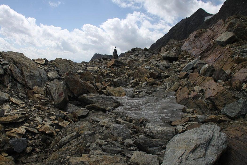 Otzi Iceman site